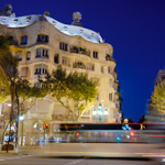 Barcelona Photography Pictures Gaudi Casa Mila, Modernist Architecture