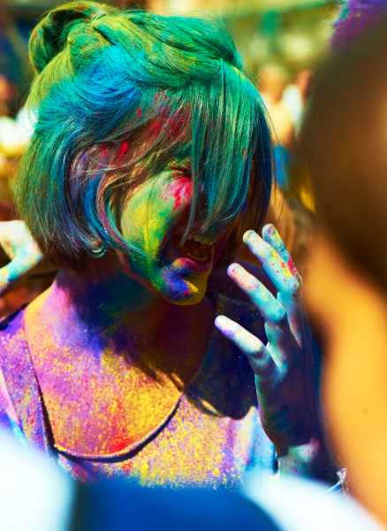Barcelona Holi Color Festival 2013