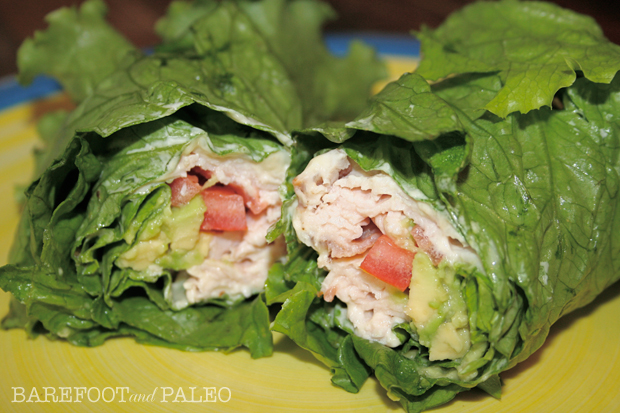 Paleo Turkey Wraps