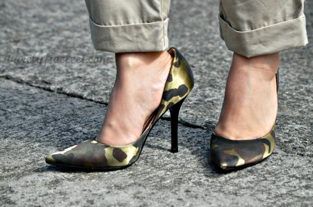 Camouflage Print Shoes