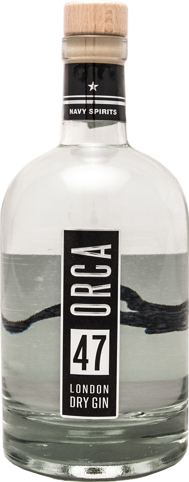 Barzubehör Hamburg Orca London Dry Gin 5 Liter 47 Vol