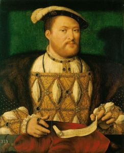 Henry the Eighth - not a bad likeness actually.