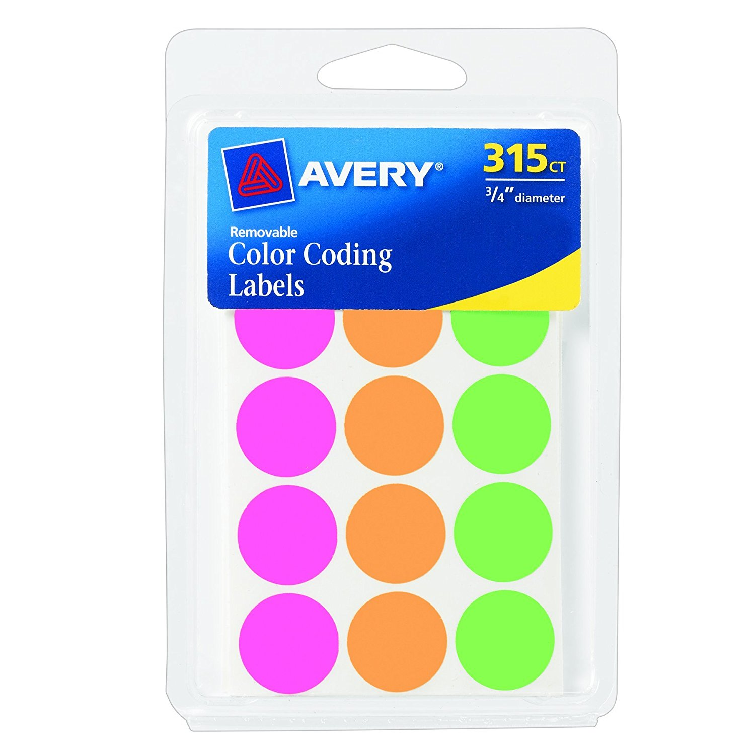 Garage Sale Dots Avery Color Coding Dot Stickers 98