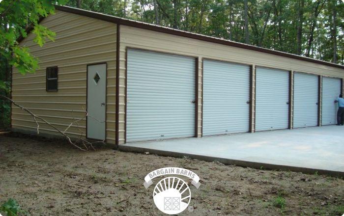 Side Entry Garages Bargain Barns Usa