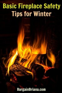 Basic Fireplace Safety Tips for Winter - BargainBriana