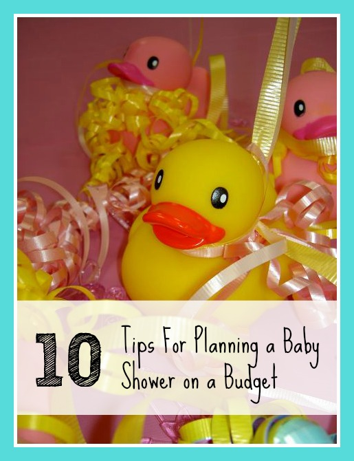 Planning a Baby Shower on a Budget