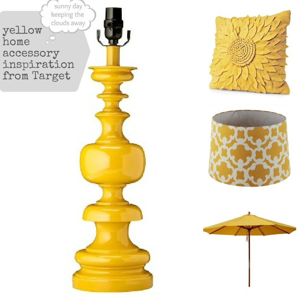 Home Accessoires Yellow Home Accessories