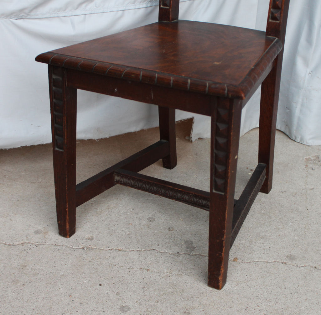 Oak Vanity Chair Bargain John 39s Antiques Antique Oak Vanity Desk Chair
