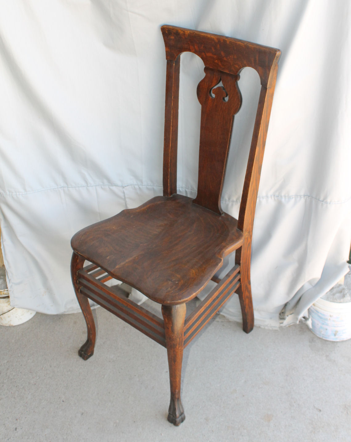 Vanity Desk Chair Bargain John 39s Antiques Antique Oak Vanity Or Single