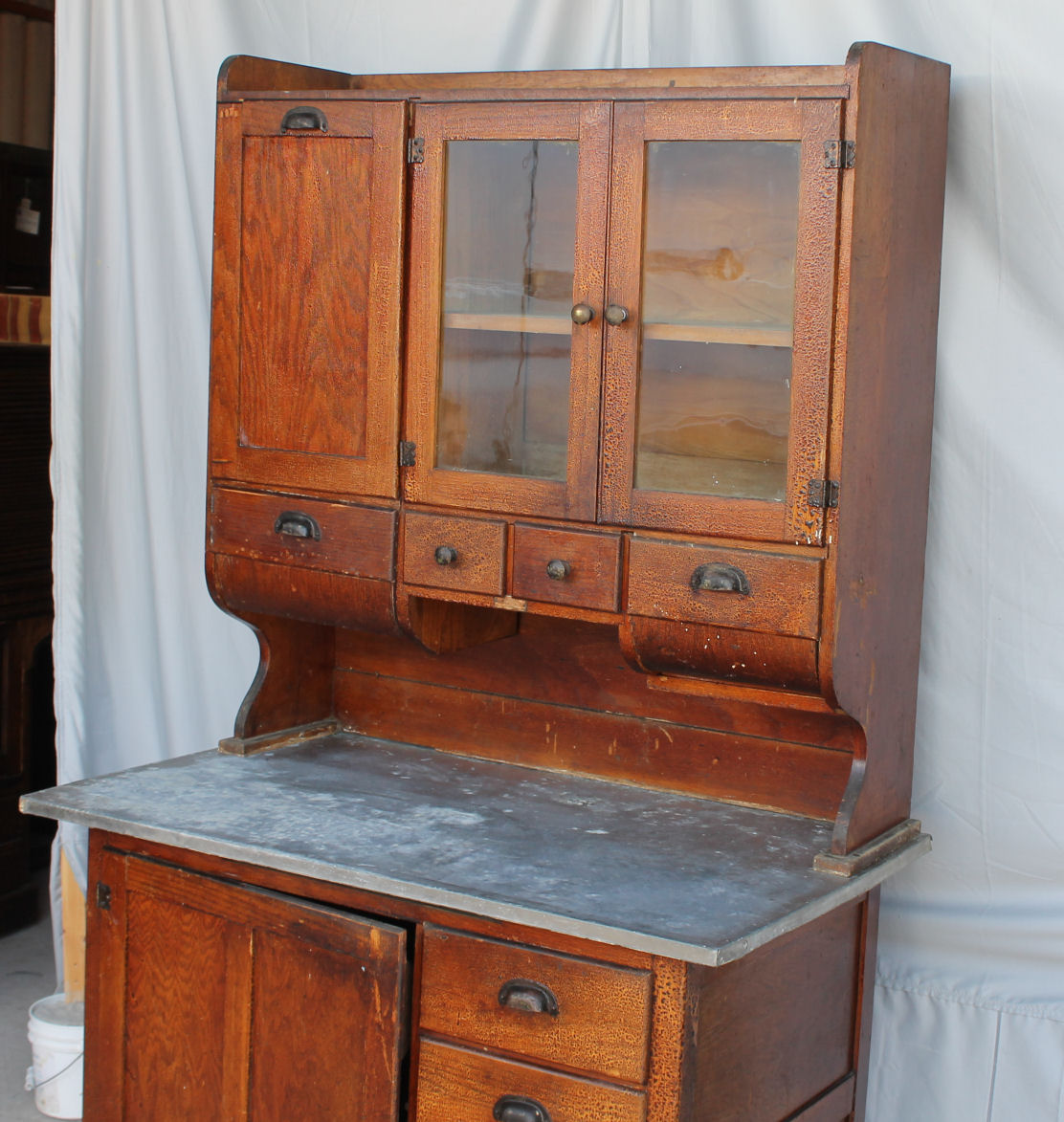 What Is The Height Of A Kitchen Cabinet Bargain John's Antiques | Antique Oak Kitchen Cabinet