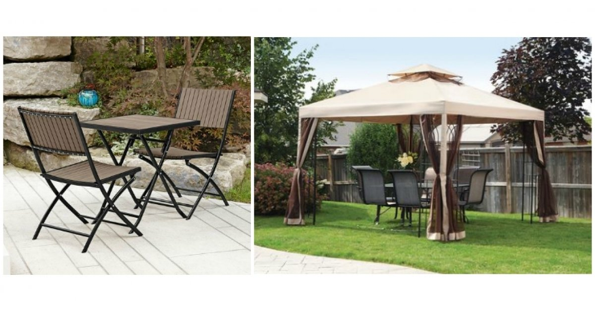 Patio Sets Gazebos Umbrellas Clearance Priced Walmart - Outdoor Furniture Clearance Online