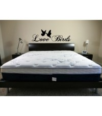 Love birds, romantic wall art sticker, wall art decal.