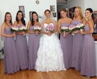 cheap bridesmaid dresses in wisteria  Fashion dresses
