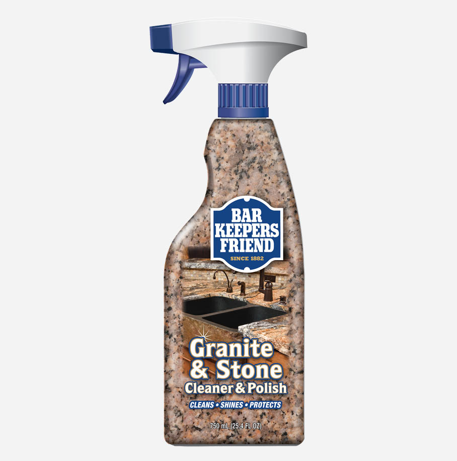How To Clean Granite And Stone Countertops Bar Keepers Friend