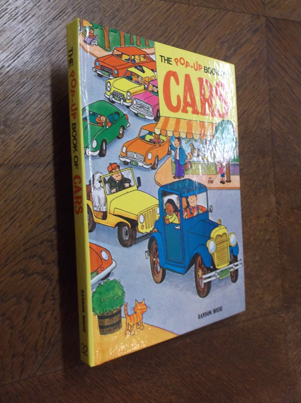 Pop Up Book Cover The Pop Up Book Of Cars By Renzo Barto On Barker Books Vintage