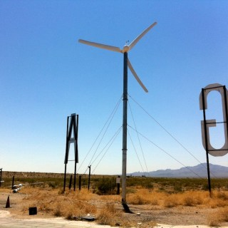 Wind Powered Gas
