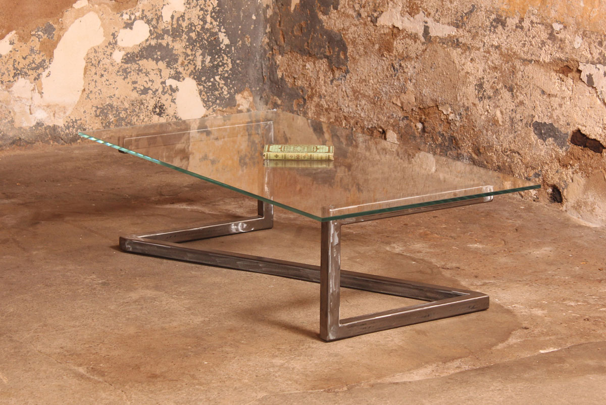 Meuble Chene Clair Barnabé Design » Table Basse Métis – Verre Securit