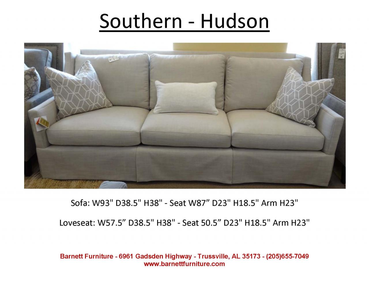Hudson Sofa Collection Reviews Barnett Furniture Larger Sofas90