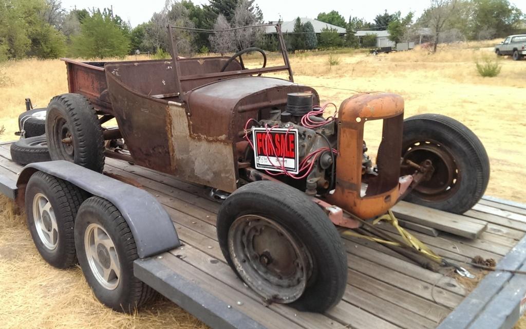 Classic Muscle Cars Wallpaper Hd Roadside Rat Rod For 1 595