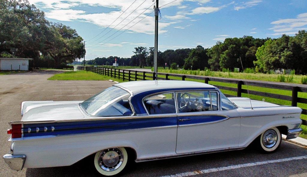 1959 mercury montclair 2 door hardtop