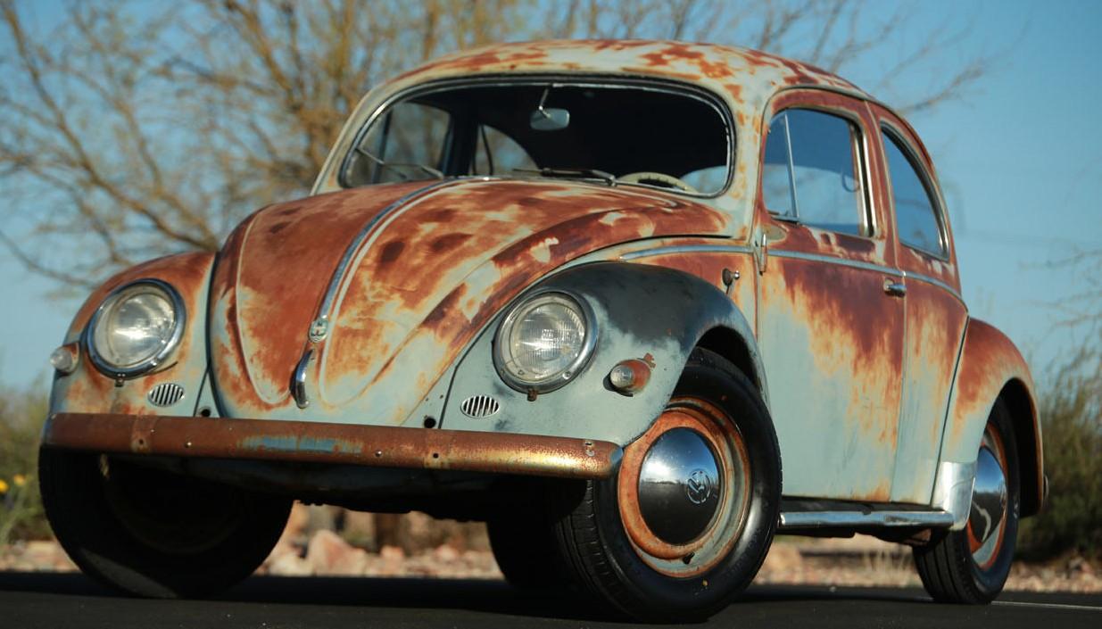Car Window Wallpaper Art Bug 1957 Vw Beetle