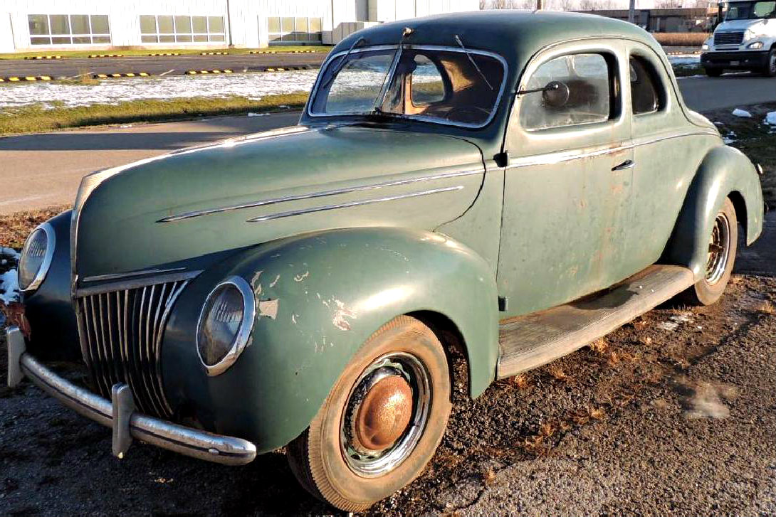 Coupe Ford Dream Survivor 1939 Ford Coupe