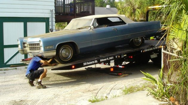 20 Years of Dust 1966 Cadillac DeVille Convertible