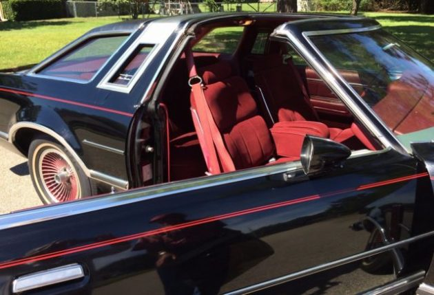 Baby Car Seats Leather 29 000 Mile T Bird 1979 Ford Thunderbird