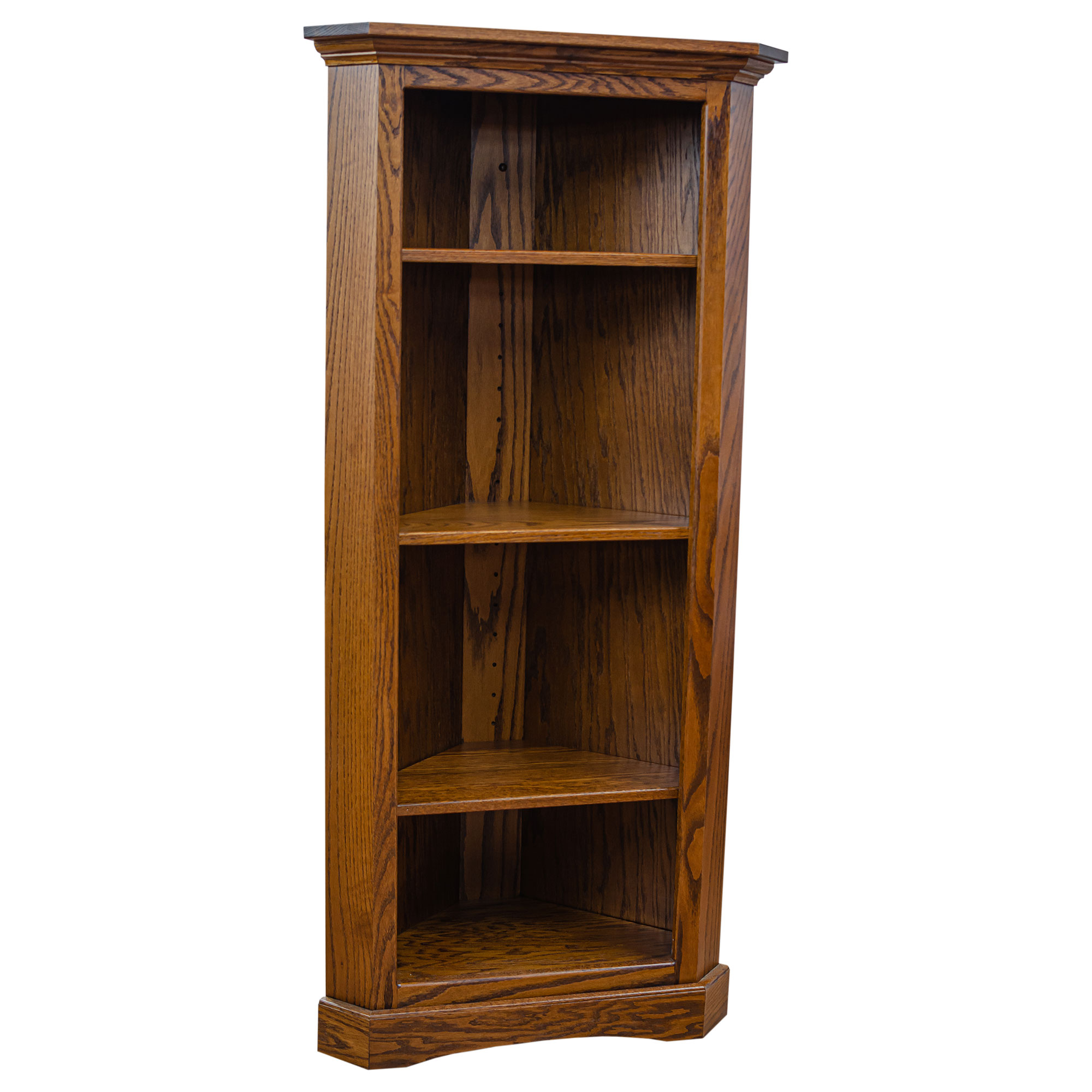 Solid Wood Bookcases Handcrafted Amish Office Furniture