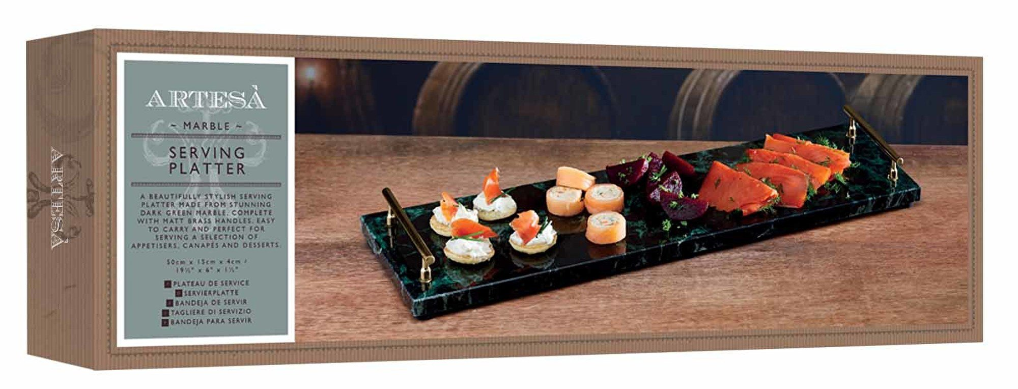 Tagliere Tiers Artesà Marble Serving Platter At Barnitts Online Store Uk Barnitts
