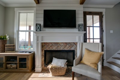 Fireplace | Barn Light Homes | Waco TX