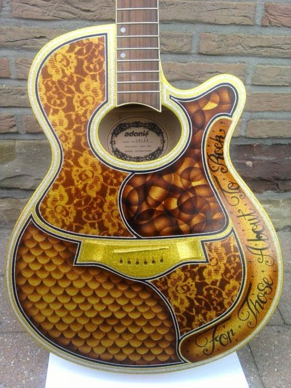 Bad 24 Online Shop Awesome Guitar Custom Paint Jobs - Barnorama