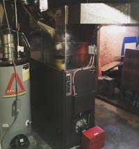 Oil Warm Air Furnace Installation - Barracuda Heating ...