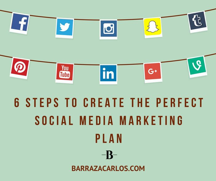 6 steps to do the perfect social media marketing plan - social media marketing plan