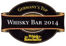 "Der Ritterschlag: ""Germany´s Top Whiskybar 2014"""