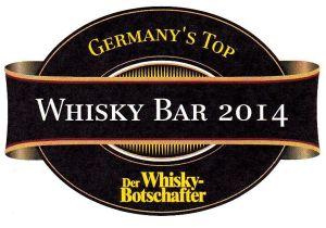 "Der Ritterschlag: ""Germany´s Top Whiskybar 2014"""