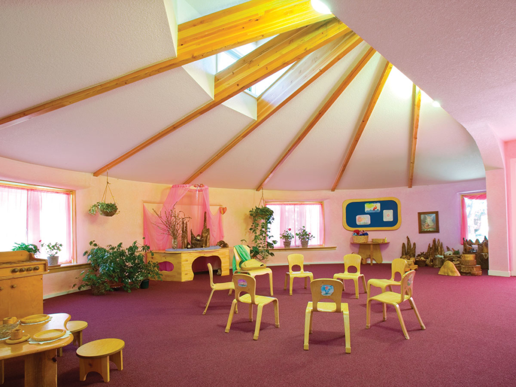 Anthroposophische Möbel Shining Mountain Waldorf School Barrett Studio Architects