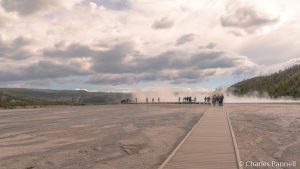 Boardwalk at Midway Geyser Basin