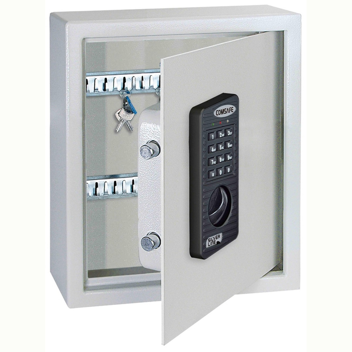Boite A Clef Exterieur A Code Keytronic Fire Safe Key Cabinet Electronic Barriers Direct