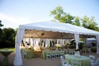 Drapes for 20' & 30' Wide Frame Tents - Barrons Barrons