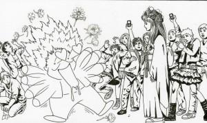 Mangaman panel