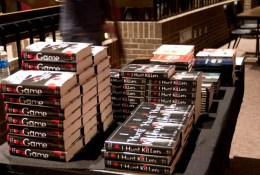 Piles o' books.