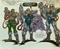 The Lazer Corps, Earth's elite defense unit.