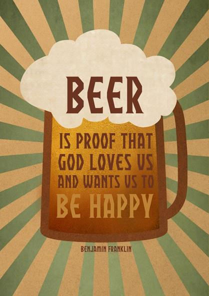 bar humor - god loves beer