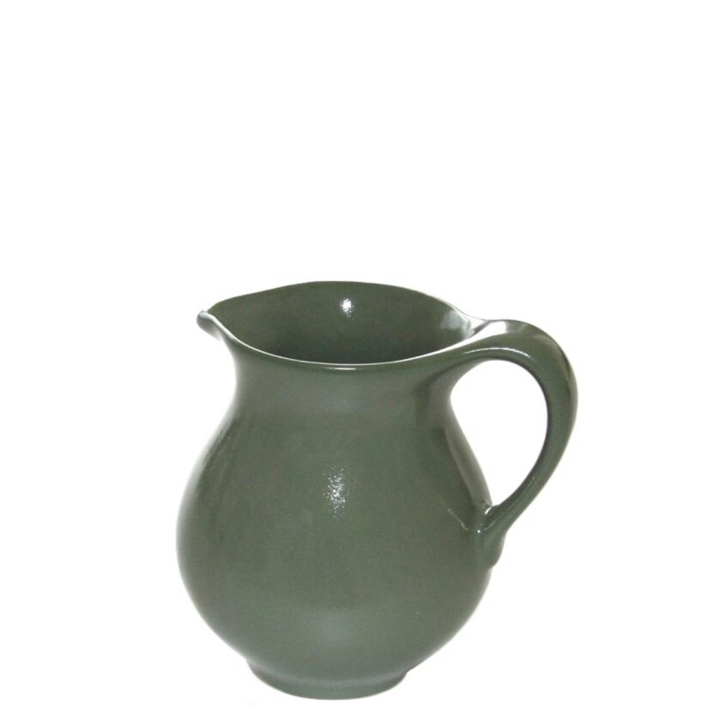 Water Pitcher Ceramic Green Ceramic Water Jug Whisky Accessories Barshopen