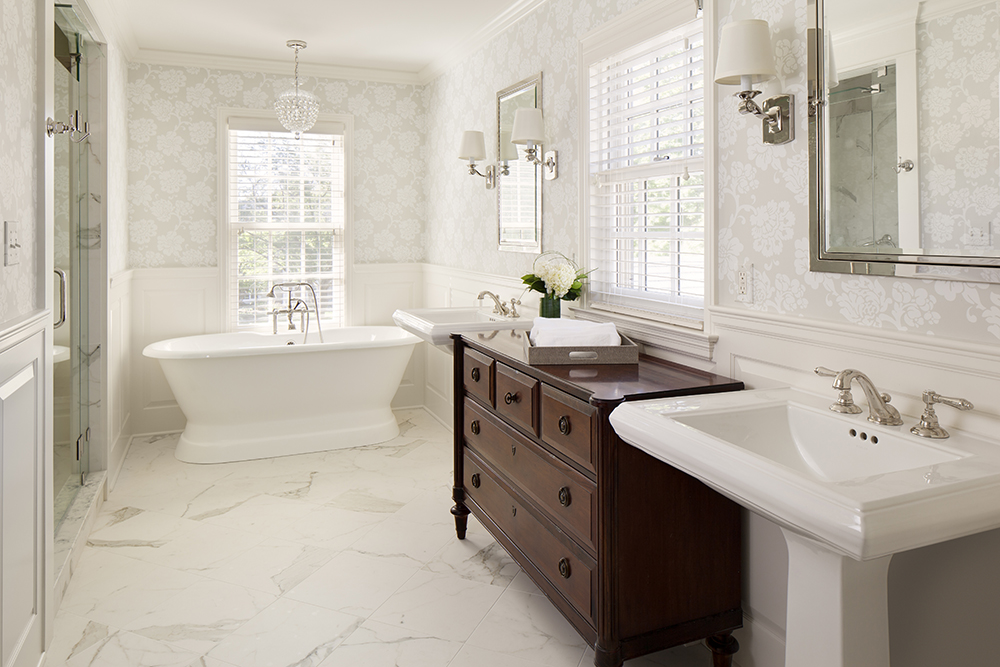 Cuartos De Baño Con Estilo The Classic Bathroom | Bartelt. The Remodeling Resource