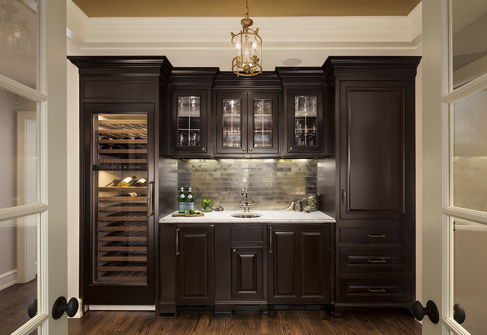 The Perfect Wet Bar Bartelt The Remodeling Resource