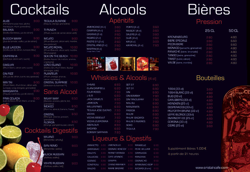 Le Cristal Bar Nuit 2