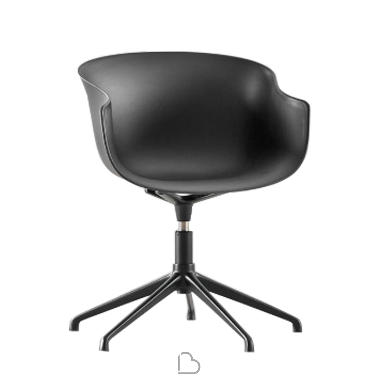 Sedia Girevole English Swivel Chair Ondarreta Bai Barthome