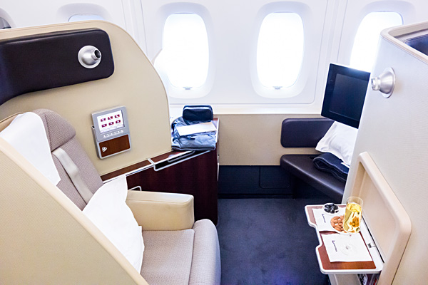 Qantas A380 First Class London To Melbourne Bartla